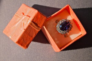 Kate's engagement ring. Image by  Remko Tanis