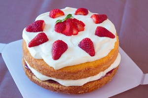 Victoria Sponge. Image by  Inspire Kelly