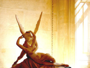 Pysche and Amor by Antonio Canova. Image by  LdDH