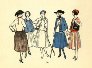 Swiss Ladies. Image by  MCAD Library