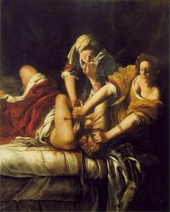 Artemisia Gentileschi. Image by  FLORENCEandTUSCANYtours