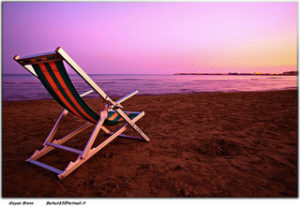 Beach chair. Image by Moyan Brenn