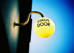 Stage Door. Image by  slimmer_jimmer