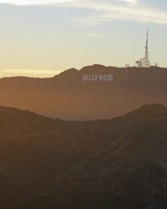 Hollywood Sign. Image by Ryan J. Quick